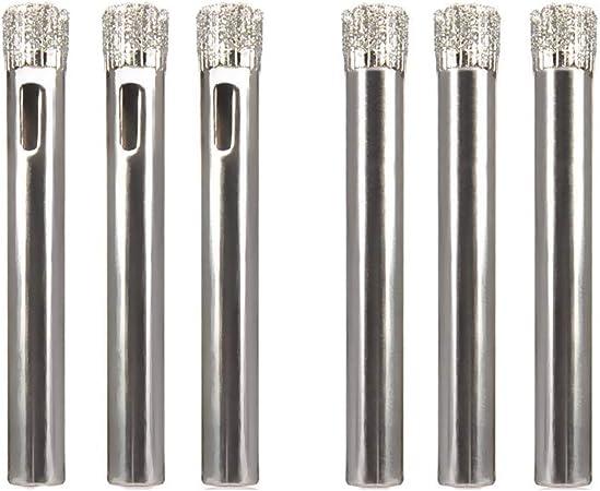 6pcs Drill Bit Set Tile High Speed Steel Power Tools Marble Glass Ceramic Hole