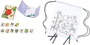 Lote de 30 Mochilas Infantiles Petates Animales + 3Bloc Notas Libretas para Colorear Regalos para Cumpleaños: Amazon.es: Equipaje
