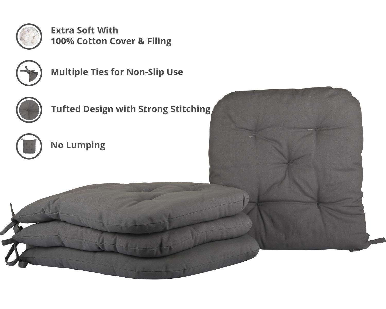 Amazon.com: Cottone 724190545669 - Cojín para silla (100 ...