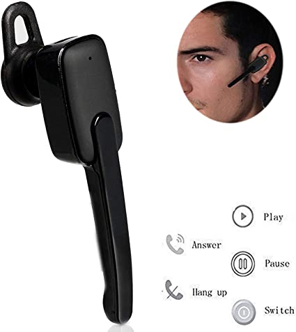 Amazon Com Wireless Bluetooth Headset Stereo Earphone Noise Cancelling Earbud Long Talking Time Earpiece With Microphone Bluetooth Earpiece Compatible With Cell Phones Samsung Note 8 9 S9 Lg Car Driver Trucker Home Audio