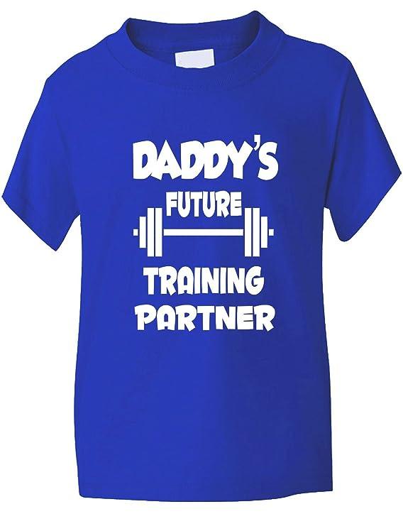 Print4u Daddys Future Training Partner Baby Hoodie 0-2 Years