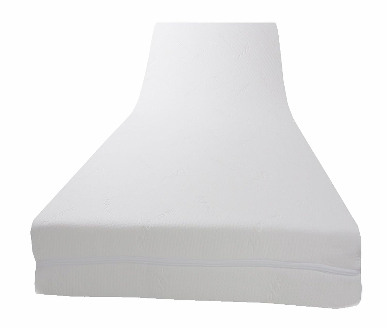 Dibapur® - PLATINUM VISCO TOPPER mit medicott® Bezug - Viscoelastische Matratzenauflage (H3 medicott 160x200x8)