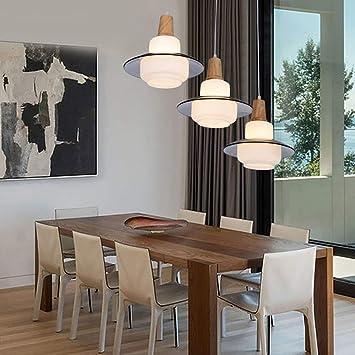 GBX Moda moderna Iluminación de techo Madera original ...