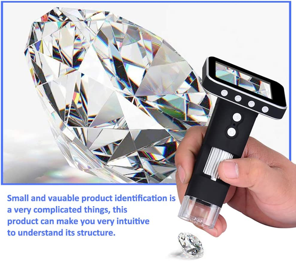 500x2.4 High-Definition Electronic Video Magnifier for Welding Mobile Phone Repair Tools ZZZL LCD Digital Microscope