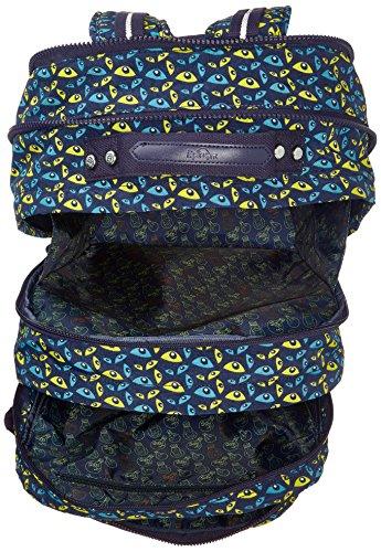 COLLEGE Kipling Nocturnal Backpack Blue True Large Eye UP Multicolour Blue wqrqvdRTax