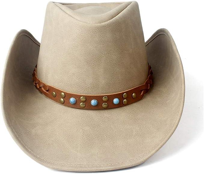 GHC gorras y sombreros Sombrero de vaquero occidental con banda ...