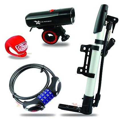 New Xtreme Bright Waterproof LED Bike Light and Taillight Combo