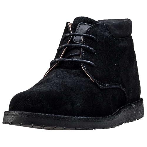 Hush Puppies Barricane Heritage Collection para hombre Chukka botas, color negro, talla 47: Amazon.es: Zapatos y complementos