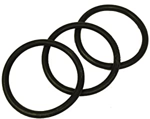 Hoover Convertible Upright Vacuum Belts, 3Pk, H-49258 OEM Belts