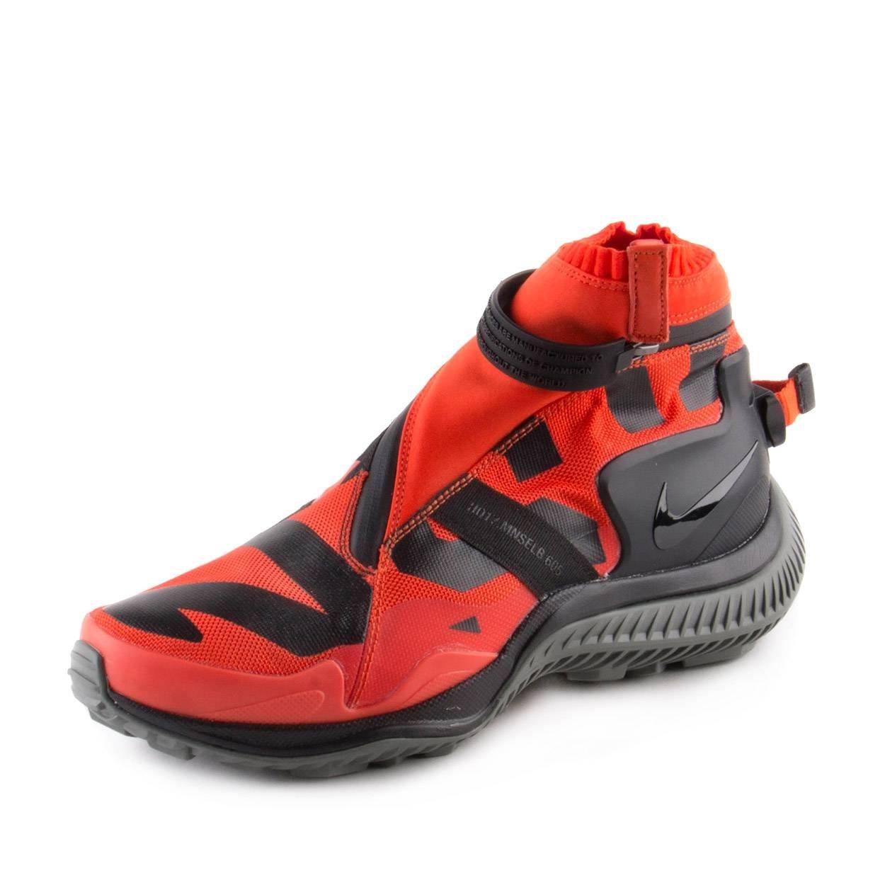 Nike Mens NSW Gaiter Boot Gyakusou Orange/Black Nylon B00FQXRYXW 7 US|Orange/Black