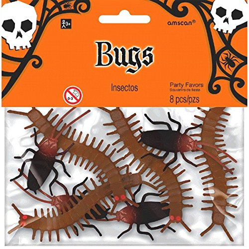 Halloween Small Pack Of Bugs ()