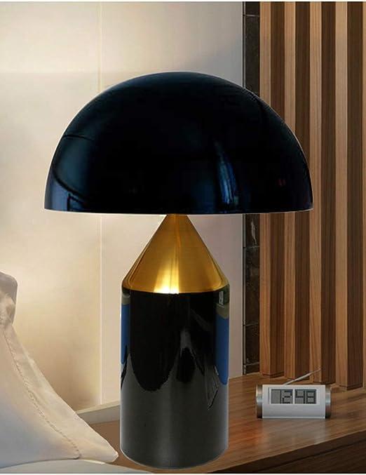 AMANDAXIONG Lámpara De Mesa Minimalista Moderna, Dormitorio ...