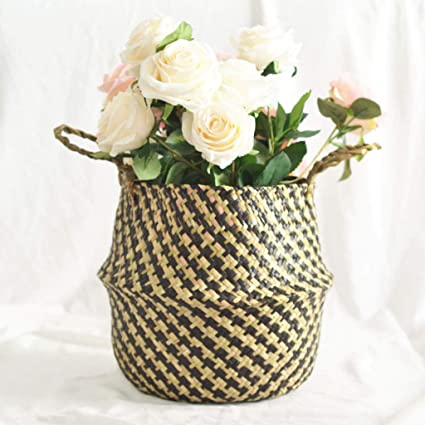 PLANTS. BREAD FLOWER TOP QUALITY NEW WICKER BASKET USE FOR FRUIT GIFT