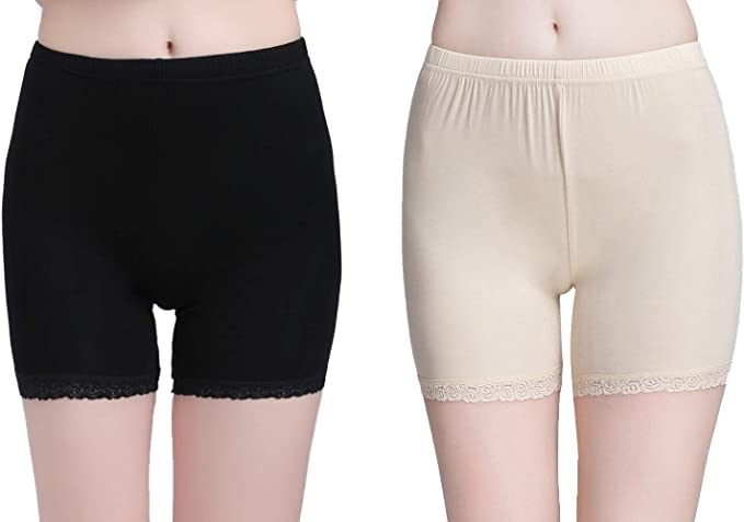Vinconie Slip Shorts Women Short Leggings Anti Chafing Shorts for Under  Dresses