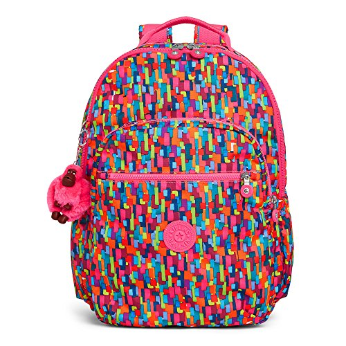 Kipling Seoul GO Geo Laptop Backpack, (Geo Accessory Pack)