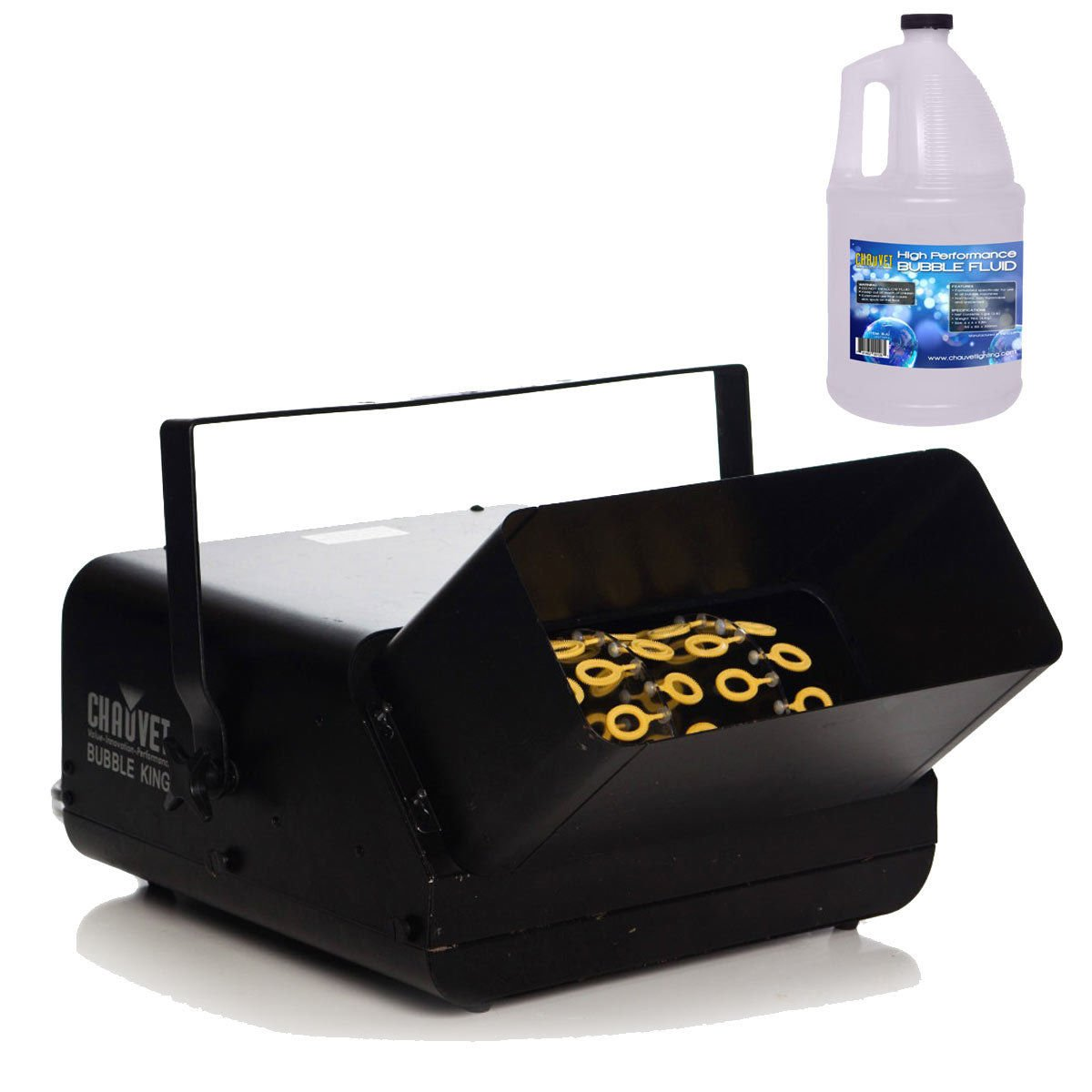 Chauvet B550 Bubble King Bubble Machine w/ Bubble Fluid by Chauvet