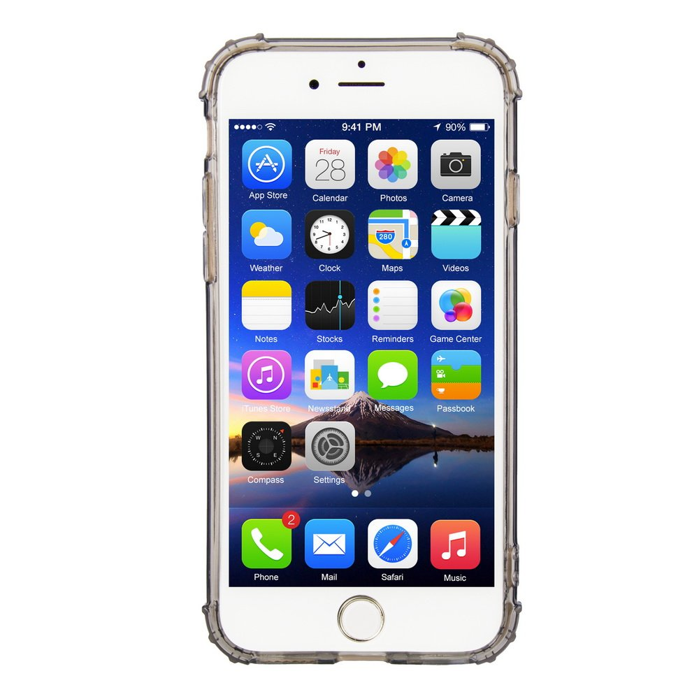 Amazon com: WEEVOO Crystal Clear iPhone 7 Case/iPhone 8 Case