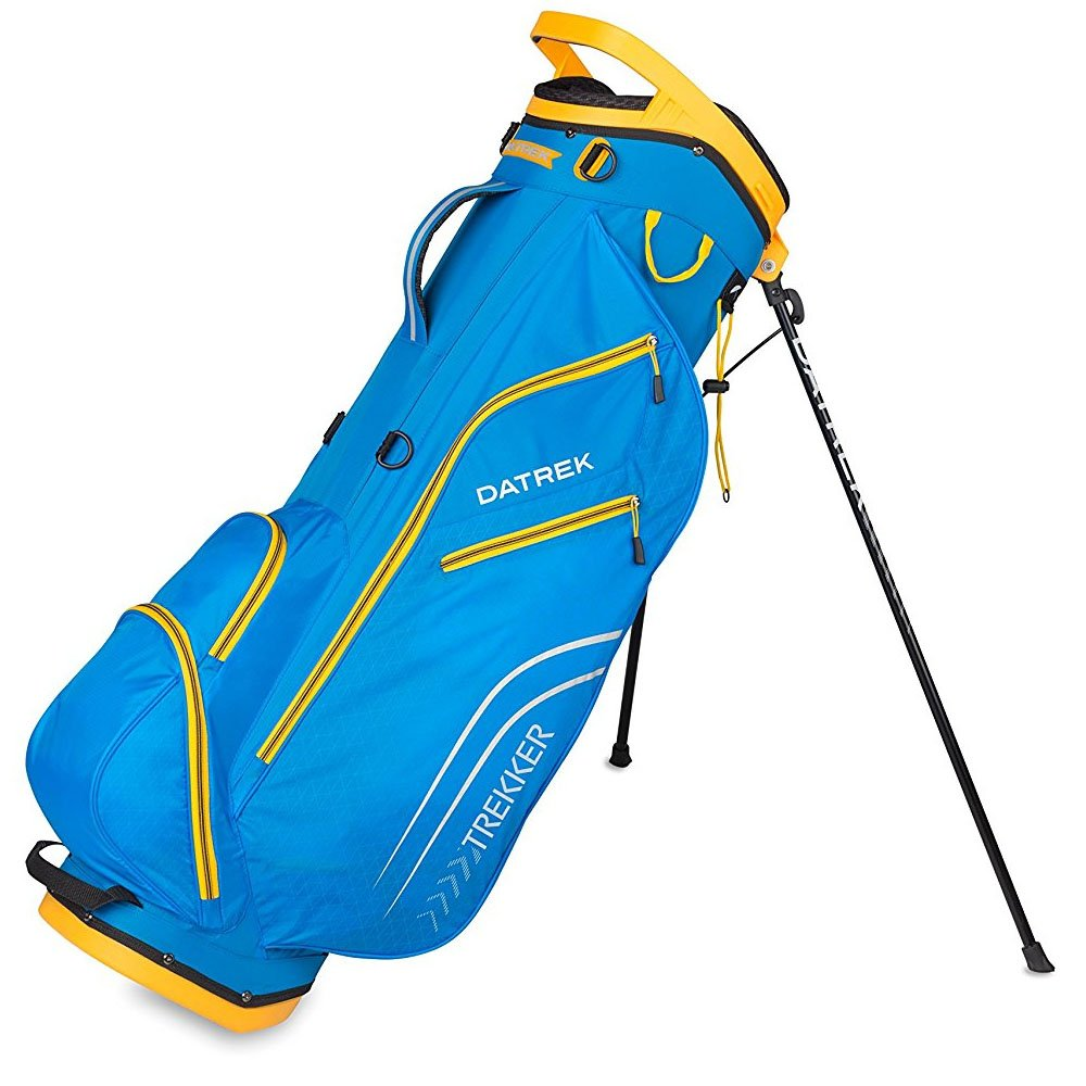 Datrek Golf Trekker Ultra Lite Stand Bag (Electric Blue/Yellow)