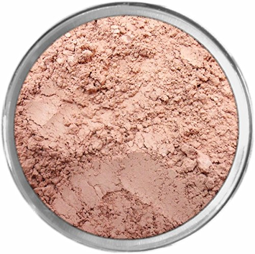 Ruffles Loose Powder Mineral Matte Multi Use Eyes Face Color Makeup Bare Earth Pigment Minerals Make Up Cosmetics By MAD Minerals Cruelty Free - 10 Gram Sized Sifter Jar