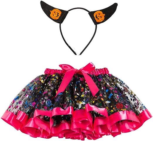 Fossen Kids - Lindo Disfraz Vestido de Fiesta Chica Halloween ...