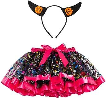 FELZ Halloween Bebe Falda Tutú Niñas Princesa De Tul Ballet Danza ...