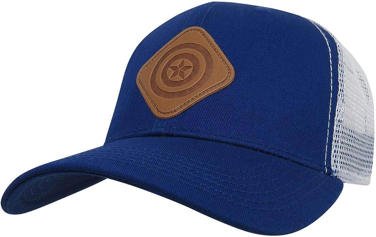 Captain America Scout Adjustable Trucker Snapback Hat