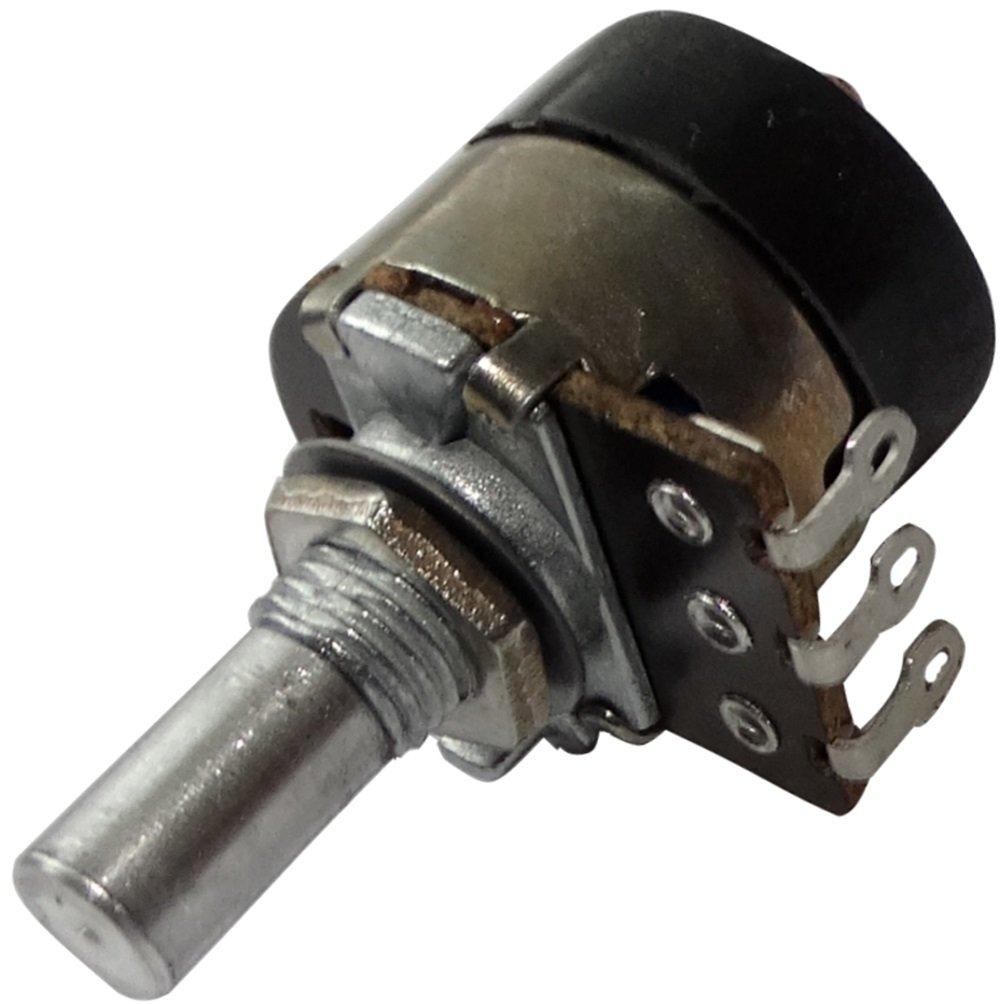 AERZETIX: Potenció metro rotativo mono logarí tmico 10k? 100mW con interruptor eje liso 6mm 10mm 18x18mm 200V AC C14977 SK2-C14977-AF456