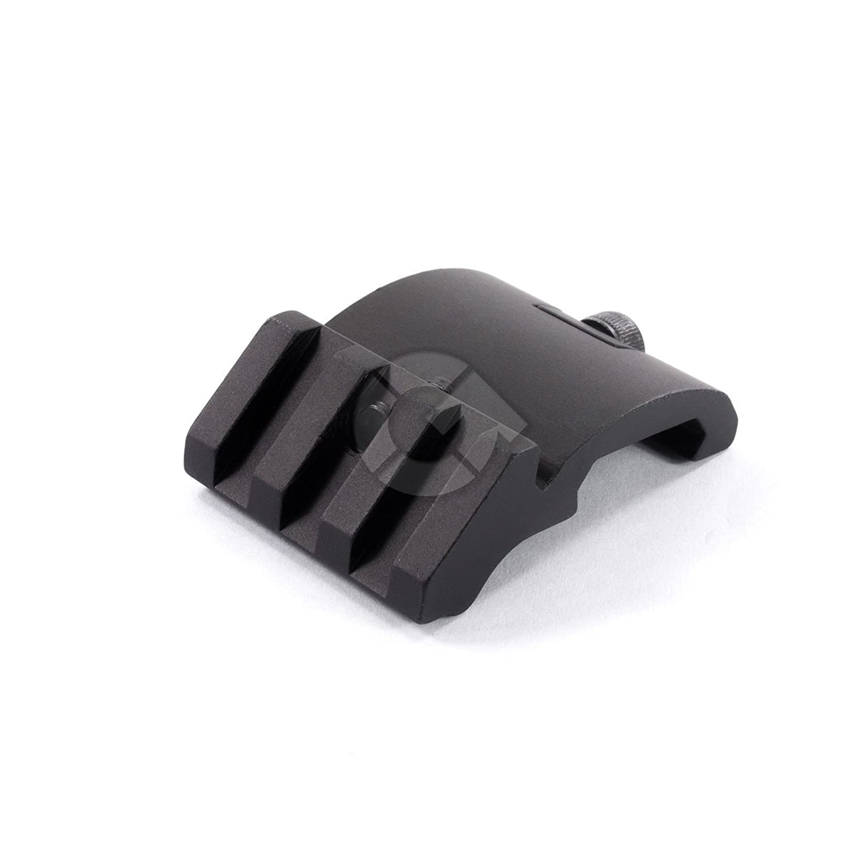Fastdealz Ultra Low Profile Offset Picatinny Rail Mount 45 Degree 20mm Side Black For Red Dot, Mangifiers, Flashlights AR Fast Dealz