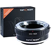 K&F Concept Lens Mount Adapter for Minolta Rokkor MD / MC Lens to Sony NEX E-Mount Camera Body, Fit for Sony Alpha A7…