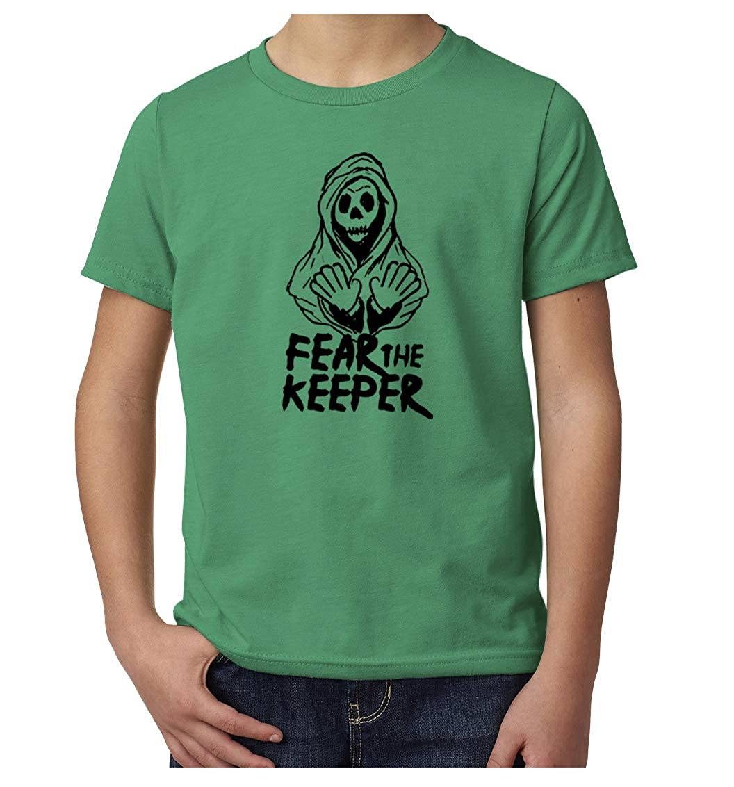 Soccer Goalie Shirts Youth Graphic tees Sports Shirts Fear The Keeper