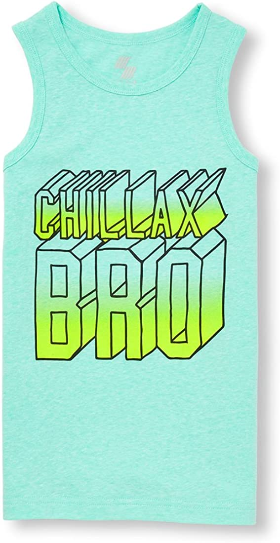 The Childrens Place Boys Big Boys Tank Top