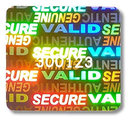 756x SVAG Hologram Stickers, 1