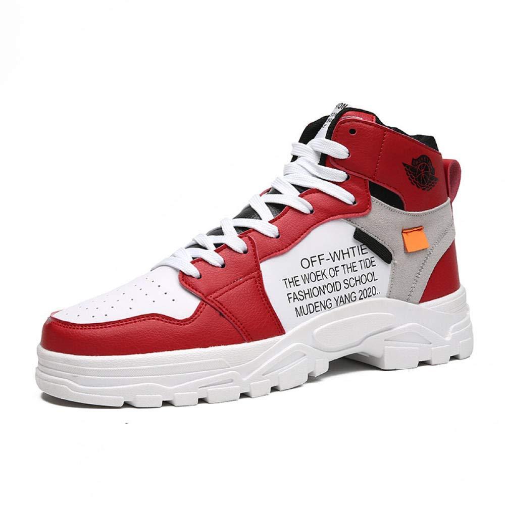 LMGSX Sneakers Alte Uomo,Le Scarpe da Corsa da Uomo per L