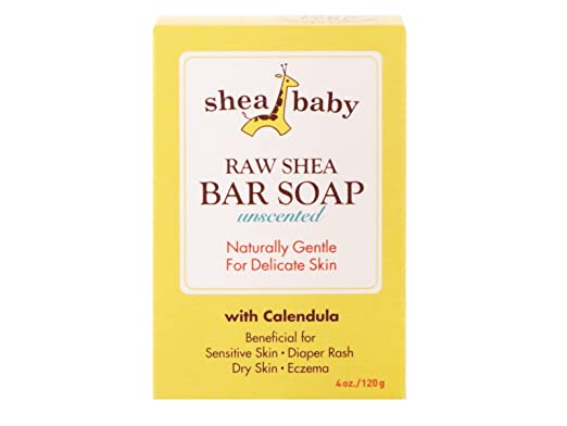 Out of Africa Shea Baby Bar Soap, Unscented, 4 Ounce