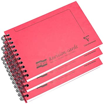 Clairefontaine Feint cuaderno de notas en espiral con rayas y ...