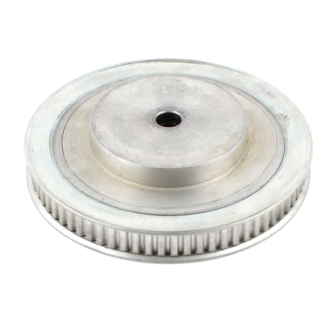 Aluminum Alloy 72T 10mm Bore Dia Double Flanged Timing Pulley