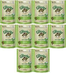 Feline GREENIES Dental Treats Catnip Flavor 1.56Lbs (10 x 2.5oz)