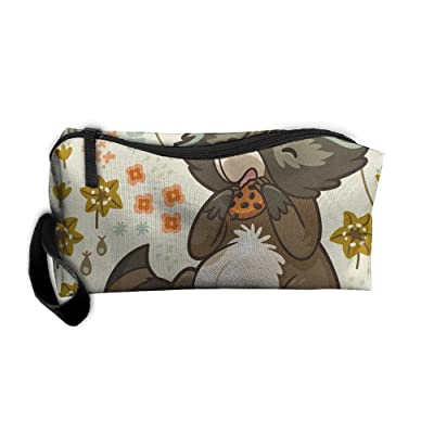 Wild And Free Squirrel Travel Bag Printed Multifunction Portable Toiletry Bag Cosmetic Makeup Pouch Case Organizer For Travel.