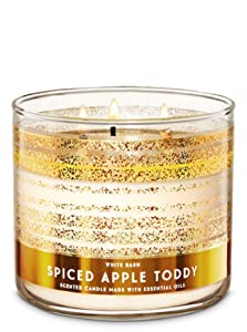 White Barn Bath & Works 3-Wick Candle in Spiced Apple Toddy (2019)