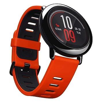 Xiaomi AMAZFIT Pace Rojo - Smartwatch con GPS Multideporte 1.34 Táctil, GPS y Bluetooth, Monitor de Ritmo Cardíaco, Reproduce música sin Móvil, Rojo ...