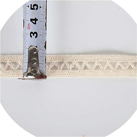 Black Measuring Tape Cotton Fabric Ribbon Trim