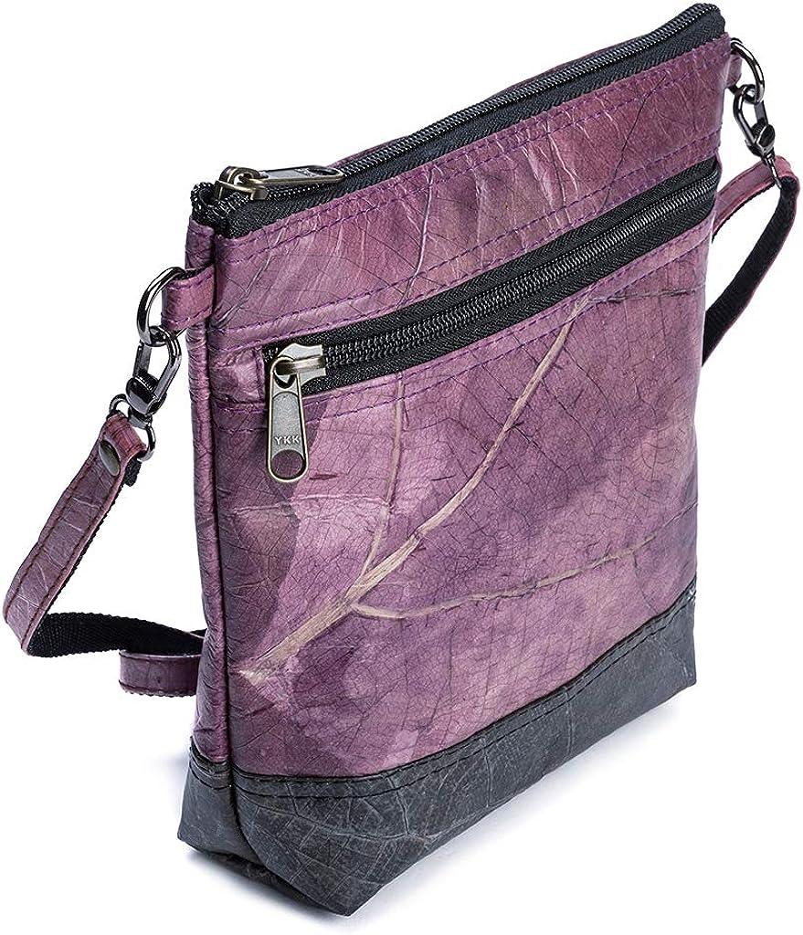 Leaf Leather Shoulder Bag...