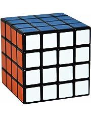 4x4 Puzzle Cube, LSMY Speed Cubes Toy Matte Sticker, Black