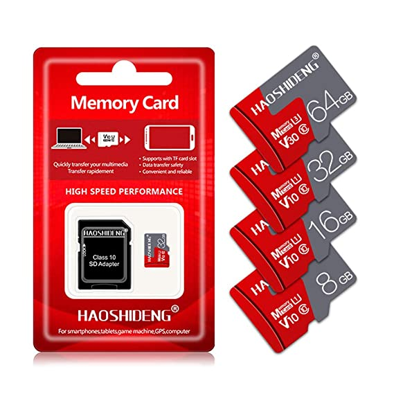 BAIYI Tarjeta de Memoria SDXC Micro Memory Card 8GB16GB 32GB 64GB ...