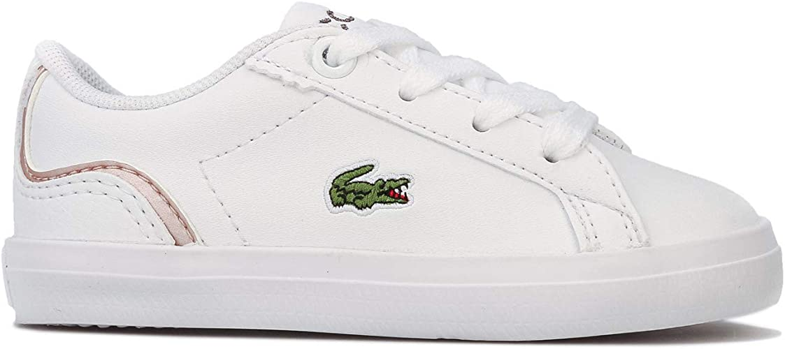 Lacoste Lerond Trainers White Pink