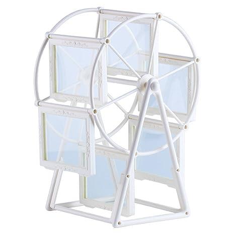 Amazon.com: Diy Photo Frame Ferris Wheel Frame Creative Rotating Six ...