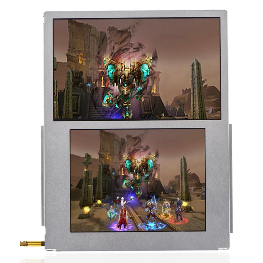 Yosoo- LCD Screen for Nintendo, Replacement Top & Bottom LCD Display Screen Repair Part for Nintendo 2DS