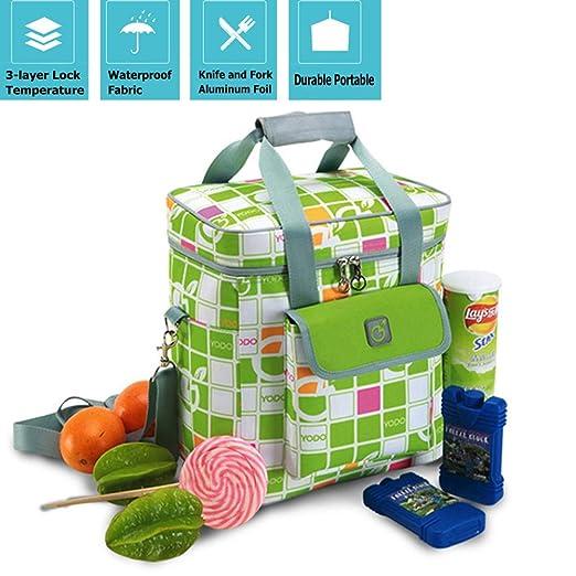 FJKLL Oficina Bolsa Calor Porta Bolsa Nevera Alimentos Infantil de ...