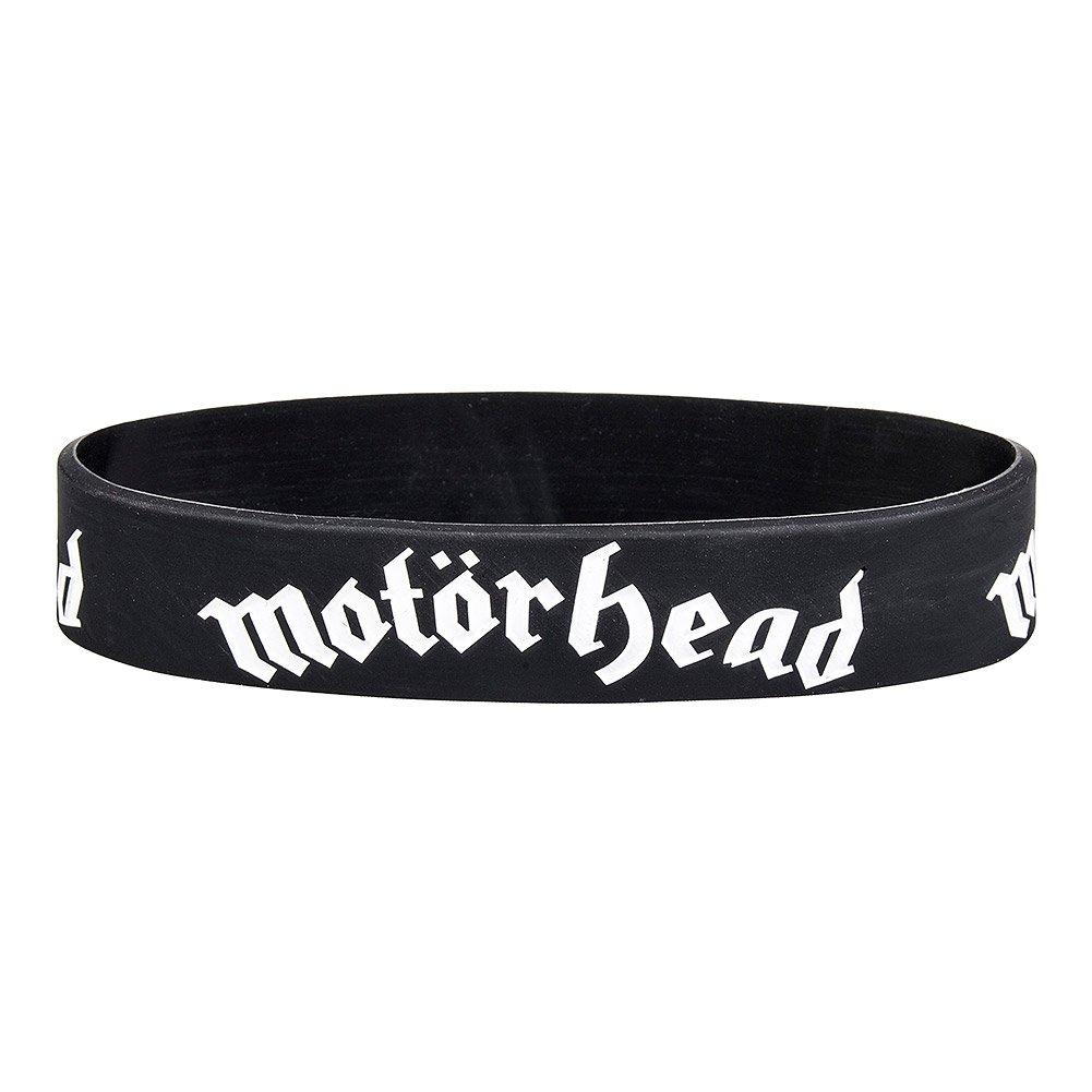 Motorhead lemmy Classic Warpig Logo officiel nouveau Noir Rubber Poignet Bandeau