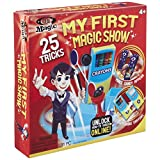 "Ideal My First Magic Set is perfect for beginner magicians who are new to the art of magic. Filled with over 20 easy-to-learn tricks and high quality props, this set will teach children to perform the same tricks as professional magicians such as ""ma..."